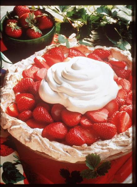 Look for the recipe for Strawberry-Kissed Meringue Pie at orlandosentinel.com/thedish.