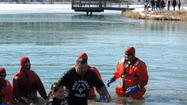 West Chicago Police Detective Takes the Polar Plunge for Special Olympics Illinois