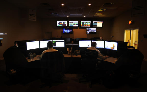 Analysts work in the Security Operations Center at the Dell SecureWorks office in South Carolina