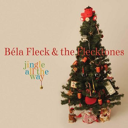 "<b>Bela Fleck & the Flecktones, ""Jingle All the Way"" (Rounder):</b> This one will make any inattentive holiday party guests sit up and take notice, starting with the Flecktones' far-flung interpretation of ""Jingle Bells"" with the Alash Ensemble of Tuvan throat singers. This collective of folk-rooted newgrass instrumentalists won't be limited in transforming songs as disparate as ""The <a class=""taxInlineTagLink"" id=""EVFES000039"" title=""Hanukkah"" href=""/topic/arts-culture/holidays/hanukkah-EVFES000039.topic"">Hanukkah</a> Waltz,"" a section of Bach's Christmas Oratorio, Tchaikovsky's ""Dance of the Sugar Plum Fairies"" and <a class=""taxInlineTagLink"" id=""PECLB003234"" title=""Joni Mitchell"" href=""/topic/entertainment/music/joni-mitchell-PECLB003234.topic"">Joni Mitchell</a>'s ""River."" <b>3 ½ stars</b>"