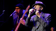 Leonard Cohen plays the Oakdale on April 2