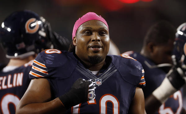 Guard Lance Louis is leaving the Bears to join the Dolphins.
