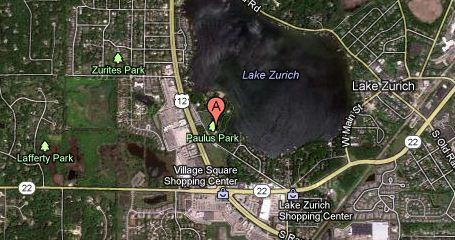 Two teens were from the water off Paulus Beach in Lake Zurich.