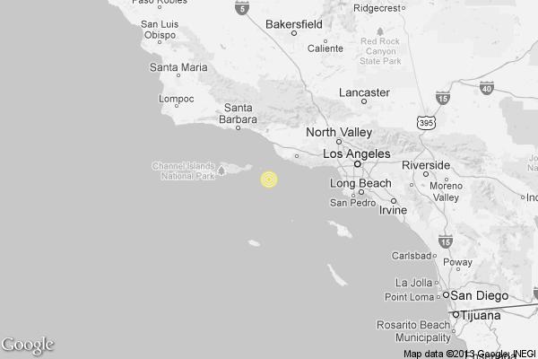 Earthquake 3 0 Quake Strikes Near Port Hueneme Latimes