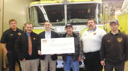 The Longmeadow Volunteer Fire Department will now be able to better serve the community thanks to the support of local farmer Ben Flaherty and America's Farmers Grow Communities.