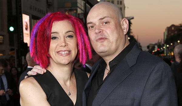 "Lana and Andy Wachowski at the premiere of their 2012 film ""Cloud Atlas."""