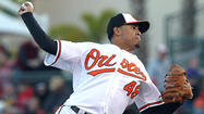 SARASOTA, Fla. — Right-hander <strong>Jair Jurrjens</strong> was hoping to show the Orioles once more what he can do on the mound before the club makes its final roster decisions.