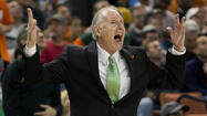 At the risk of buzz-kill accusations: Jim Larranaga lost the last two games he coached here at the Verizon Center.