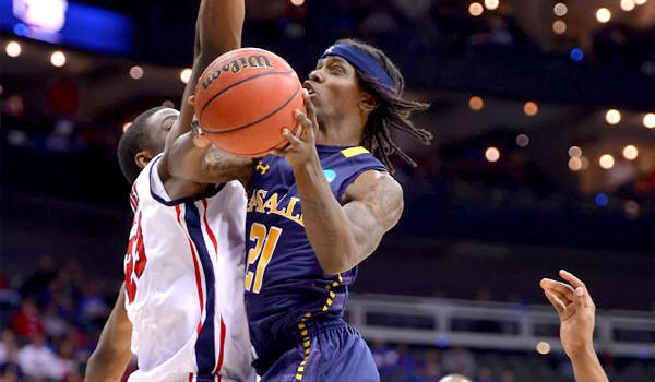 Tyrone Garland had 17 points for La Salle in their victory over Ole Miss, 76-74, advancing the Explorers to the Sweet 16 where they'll face Wichita State.