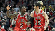 On a breakaway in the first quarter of the Bulls' 101-97 victory Wednesday night over the Heat, only Kirk Hinrich stood between LeBron James and a basket suitable for framing.