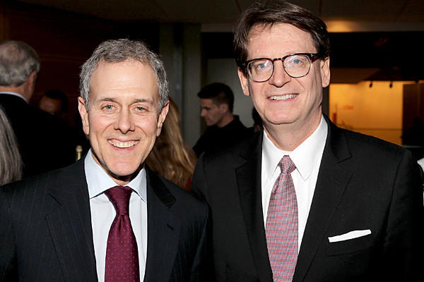 Onetime Hearst President and COO Steve Swartz (now CEO) and James Duff, President and CEO, The Newseum.