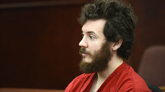 Aurora, Colo., theater shooting suspect James Holmes in court.
