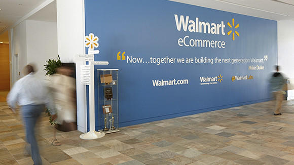 The interior of Wal-Mart Stores Inc Ecommerce offices are shown in San Bruno, California March 26, 2013.