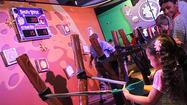 Kennedy Space Center has just opened Angry Birds Space Encounter, which brings the fowl characters from the digital-gaming world to real life in hopes of increasing young people's interest in science