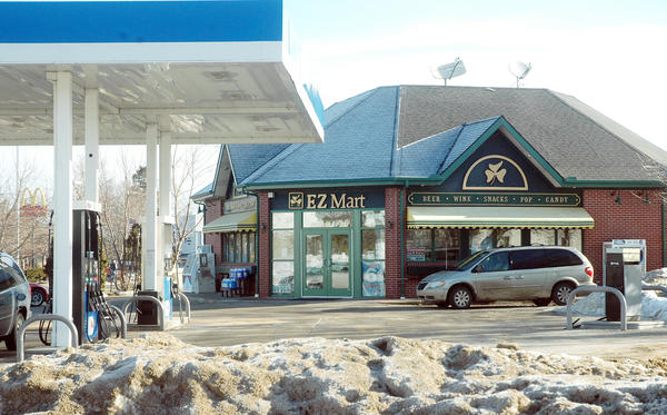 The Charlevoix EZ Mart, located at the corner of U.S. 31 and M-66 in Charlevoix was back open for business today, Wednesday after an unarmed robbery was reported at the store late Tuesday.