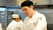 Culinary student Andrew Elder, who attends Phoebus and Kecoughtan high schools, was awarded a full tuition scholarship to Johnson & Wales University valued at $104,448.