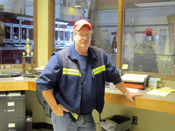Retired Alanson Fire Chief Jim Cantrell