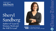 MAR 28 | Watch LIVE: Sheryl Sandberg Press Pass event