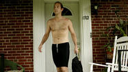Shirtless, hair flowing, legs pumping, Dr. Theodore Houk is a familiar sight running along North Charles Street on his twice-daily, 5.5-mile trek between his Lutherville home and his job at Greater Baltimore Medical Center.