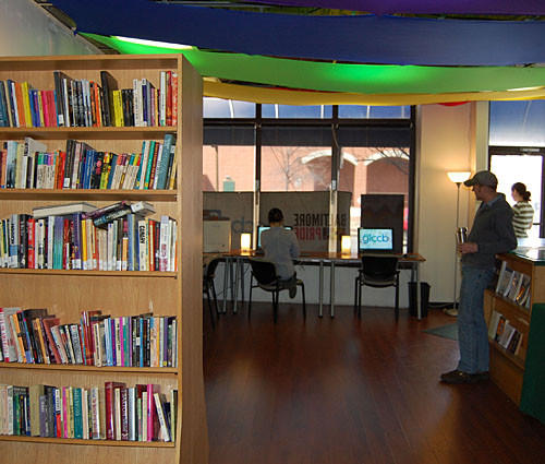 The Welcome, Information and Drop-In Center will open April 1 and will include free books and Wi-Fi.