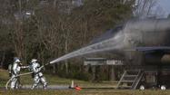 Pictures: F-22 Raptor Crash Simulation