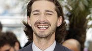 "Actor Shia LaBeouf, who exited the Broadway play ""Orphans"" under unusual (and tweetable) circumstances, turned up in the front row Tuesday night for the show's first preview performance."