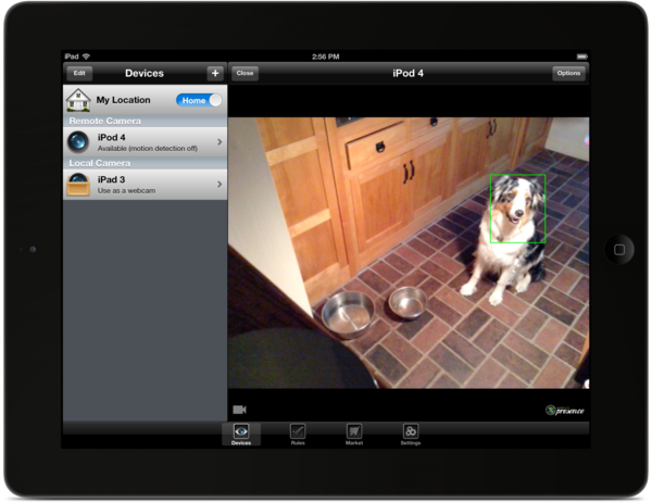 Presence, a new iOS app, turns old Apple devices into security cameras that people can use to monitor their homes.