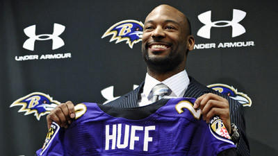 Michael Huff says he's looking forward to carrying on Ed Reed's…