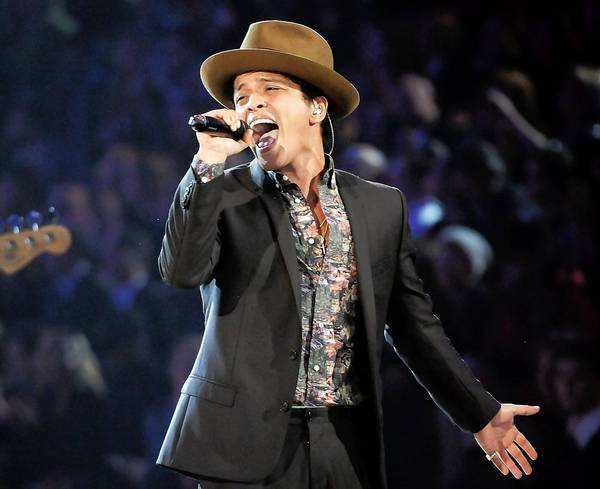 Bruno Mars is among the performers on the bill for KIIS-FM's Wango Tango concert May 11.