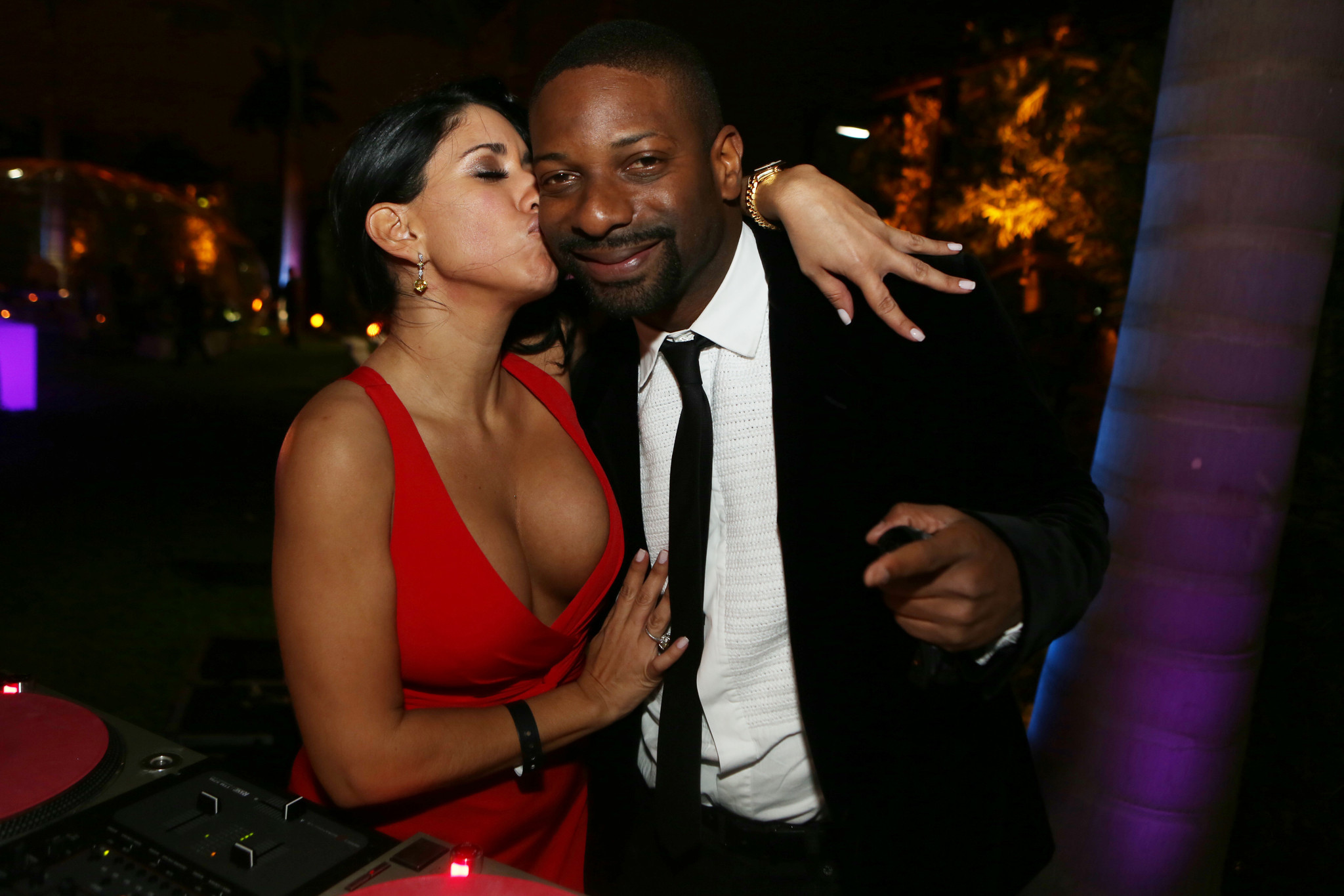 Society Scene photos - DJ Irie and friend