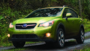 Subaru introduced its first pairing of hybrid power and all-wheel-drive in its Crosstrek crossover today at the 2013 New York International Auto Show, along with a concept performance car.