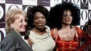 Barbara Walters with Oprah Winfrey and Diana Ross