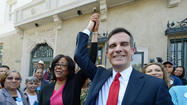 City Councilwoman Jan Perry endorsed Eric Garcetti to be Los Angeles' next mayor on Thursday, saying her support was prompted by two factors – Garcetti's track record in his city council district and sending a message to the special interests that poured millions of dollars into supporting City Controller Wendy Greuel in the mayoral primary.