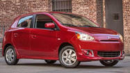 Mitsubishi Mirage vs. Ford Fiesta: Battle of the itty-bitty