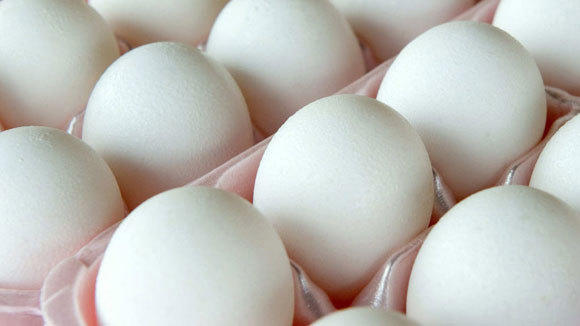 A carton of eggs is shown in a 2010 file photo.