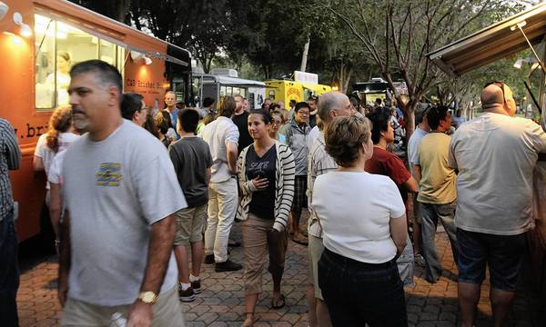 Maitland's Food Truck Cafe is Wednesday, 6-9 p.m., around Lake Lily.