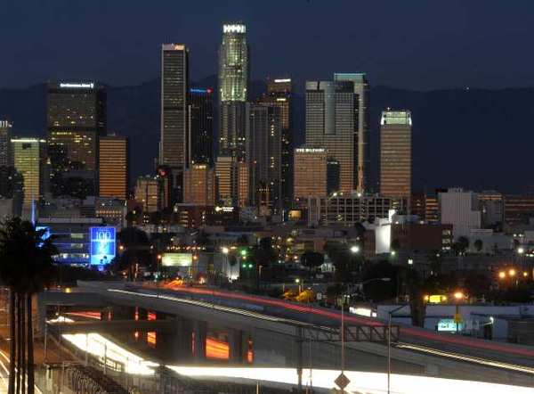 The average car rental rate in Los Angeles over the last 12 months was $30 a day, according to a survey.