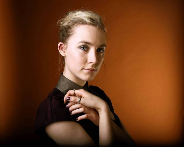 Actress Saoirse Ronan at the Four Seasons hotel in Beverly Hills.