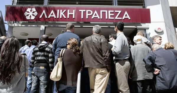 Long lines formed as Cyprus reopened its banks. Fear of a depositor stampede had hundreds of public safety officers deployed and hospitals, doctors and firefighters on alert.