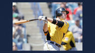 TAMPA, Fla. (AP) — Lyle Overbay has emerged as the top contender to be the New York Yankees' starting first baseman with Mark Teixeira beginning the season on the disabled list.