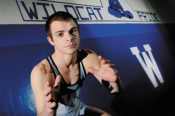 Williamsport senior Nick Miller is The Herald-Mail's 2012-13 Washington County Wrestler of the Year.