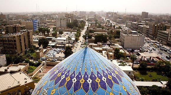 Downtown Baghdad