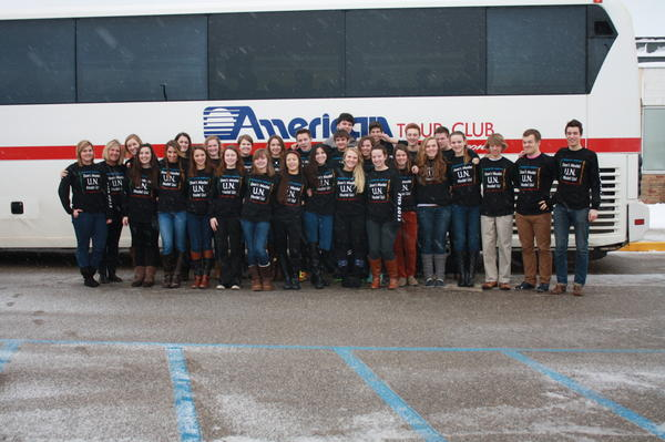 Members of the Petoskey High School Model UN Club return from the 2013 Mid-American Model UN Conference in Ypsilanti, where they conferenced, deliberated and negotiated with more than 412 other UN delegates from the Midwest and Canada.