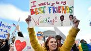 Is gay marriage a gateway issue for political activism?
