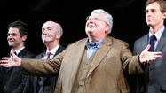 The larger world may have discovered Richard Griffiths through the Harry Potter movies, but the theater world has long claimed him as one of its best.
