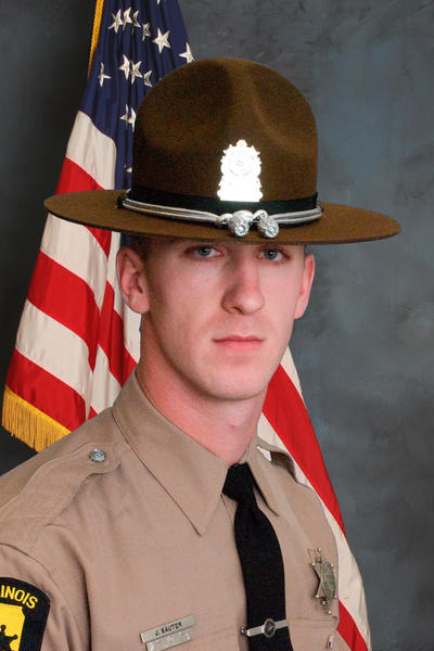 Illinois State Trooper James Sauter died in a car crash on Interstate 294 south of Willow Road overnight, according to authorities.