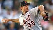 LAKELAND, Fla. (AP) — Detroit Tigers ace Justin Verlander agreed Friday to a $180 million, seven-year contract, topping Felix Hernandez for the richest deal for a pitcher in baseball history.