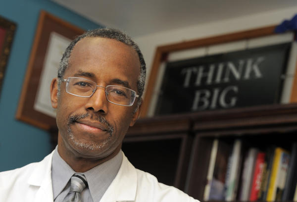 Johns Hopkins neurosurgeon Dr. Ben Carson apologizes for 'choice of words' and examples used in talking about gay marriage on Fox News this week.