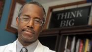 "Dr. Benjamin Carson, the famed Johns Hopkins <span class=""runtimeTopic"">neurosurgeon</span>, apologized Friday for his ""choice of words"" and use of examples in discussing gay marriage on Fox News earlier in the week."