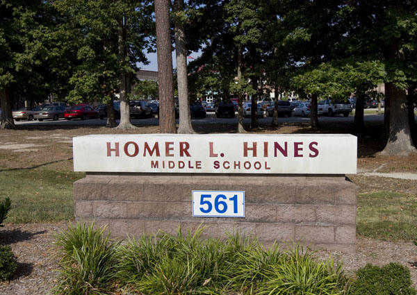 Hines Middle School students are sent home early because of a damaged transformer that caused a power outage.